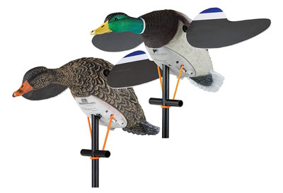 spinning wing decoys